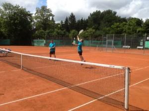 Tennis Werner und Rainer 1 klein